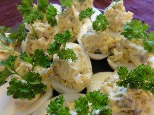 Pickled Herring Easter Eggs
