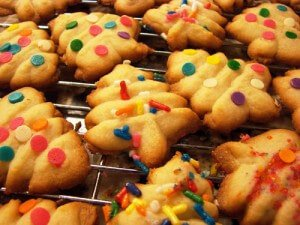 Swedish Spritz Cookies
