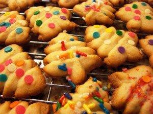Swedish Spritz Cookies