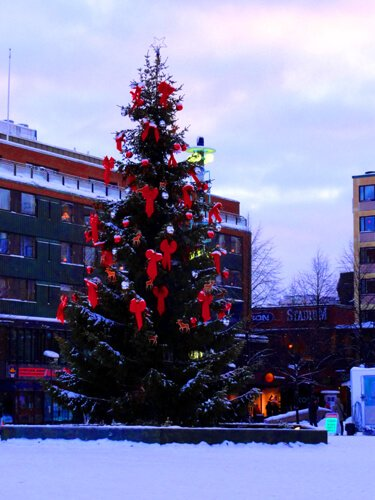 Christmas in Sweden.
