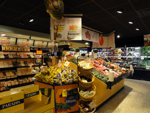 ICA, Swedish grocery store in Skelleftea.
