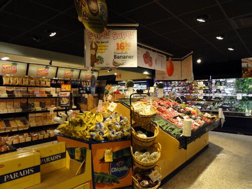 ICA, Swedish grocery store in Skelleftea.