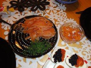Swedish Christmas fish