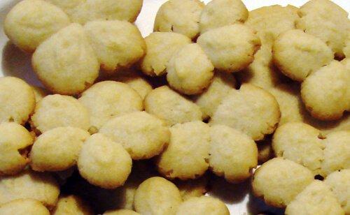 Swedish sprits cookies