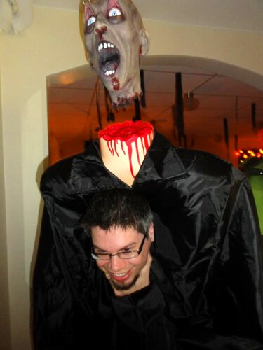 A Swede pushes the limits of Halloween.