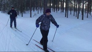 Cross Country Skiing in Sweden