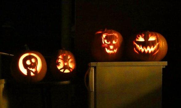 swedish halloween pumpkins