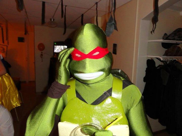 Teenage mutant ninja Swede.