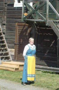 Traditional Midsummer Dress