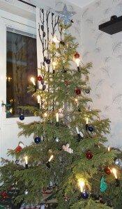 Traditional Home Christmas Tree