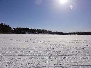 Lake Krok in Norrland