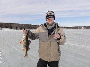 Johan and his big fish