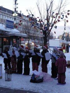 Swedish kids singing