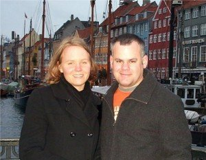 Asa and Hub in Copenhagen