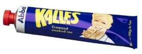 Kalles creamed smoked cod roe spread