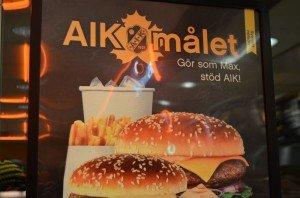 AIK meal in Skellefteå