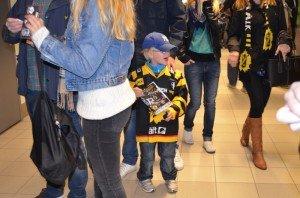 little hockey fan