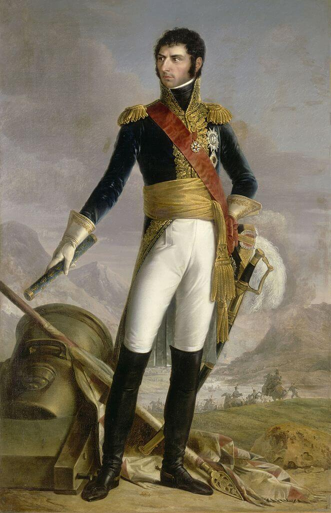 Karl XIV Johan, King of Sweden 1818-1844.(Picture from Wikipedia and nationalmuseum.se)