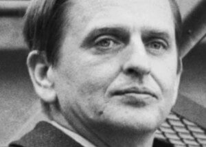 Olof Palme, Prime Minister of SwedenAssassinated on Feb 28, 1986(Picture from Wikipedia)