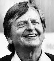 Prime Minister Olof Palme, assassinated on Feb. 28, 1976