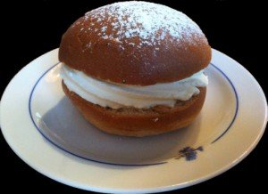 "A ""semla"" – a favorite companion to your fika!"