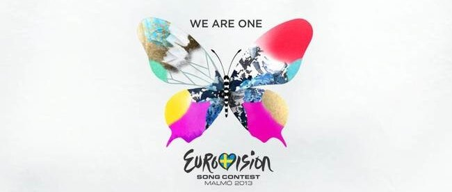The logotype for ESC 2013, created by the design bureau Happy F&B