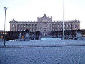 """Riksdagshuset"" (Parliament house)"