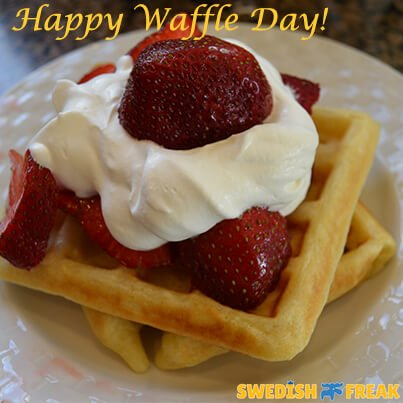 Happy Waffle Day