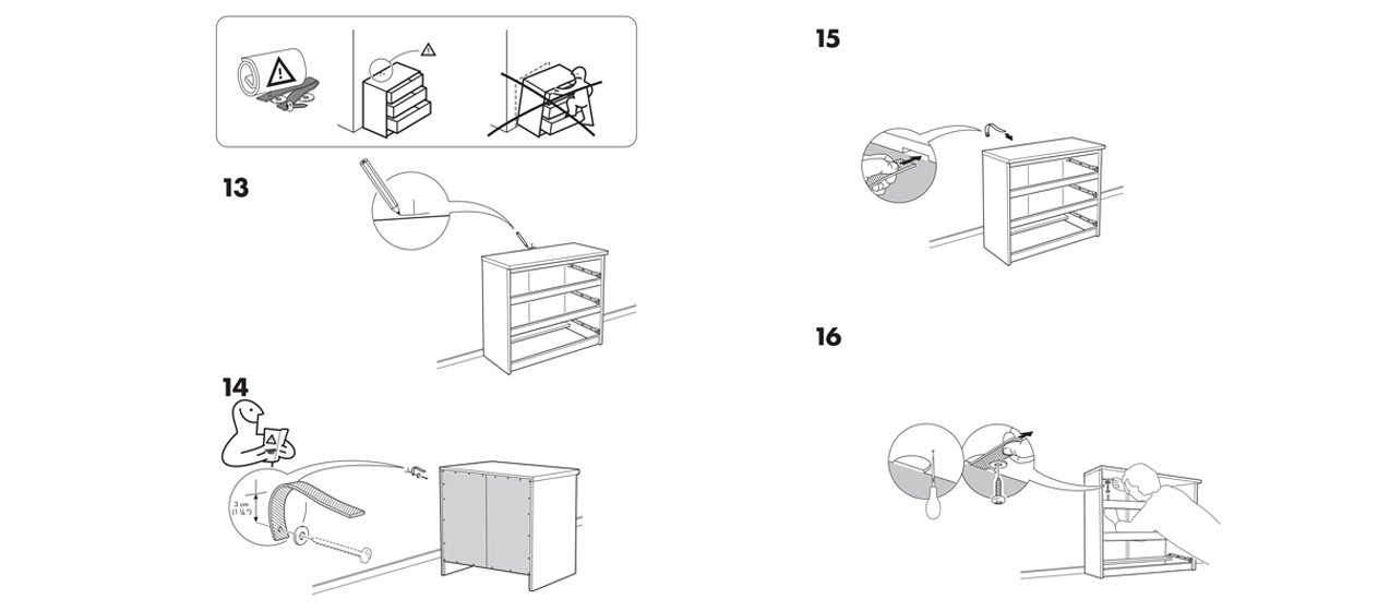 malm bed drawers instructions