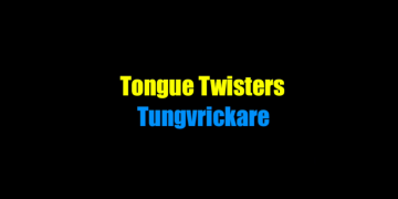 swedish tongue twisters