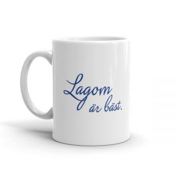 Lagom ar bast mug