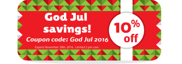 God jul coupon 2016