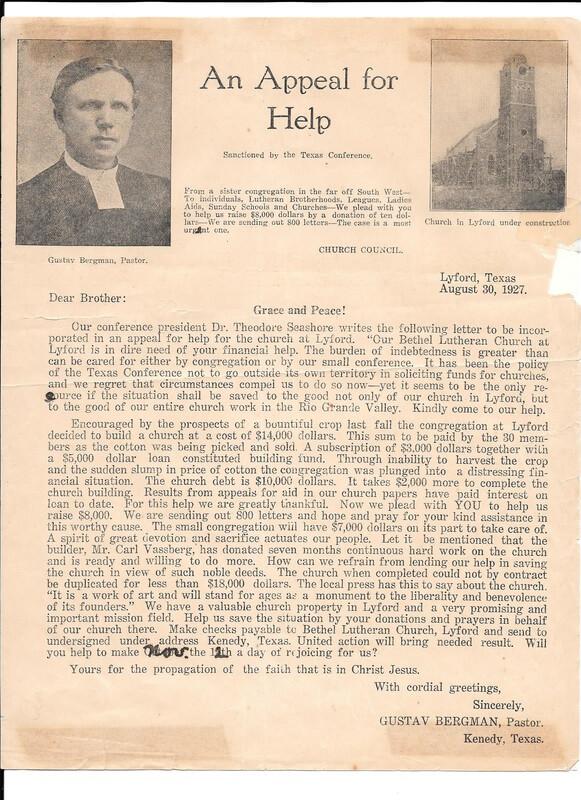 Swedish Church letter