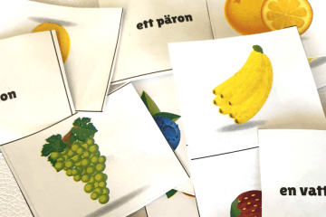 Swedish-Fruit-Flash-Cards