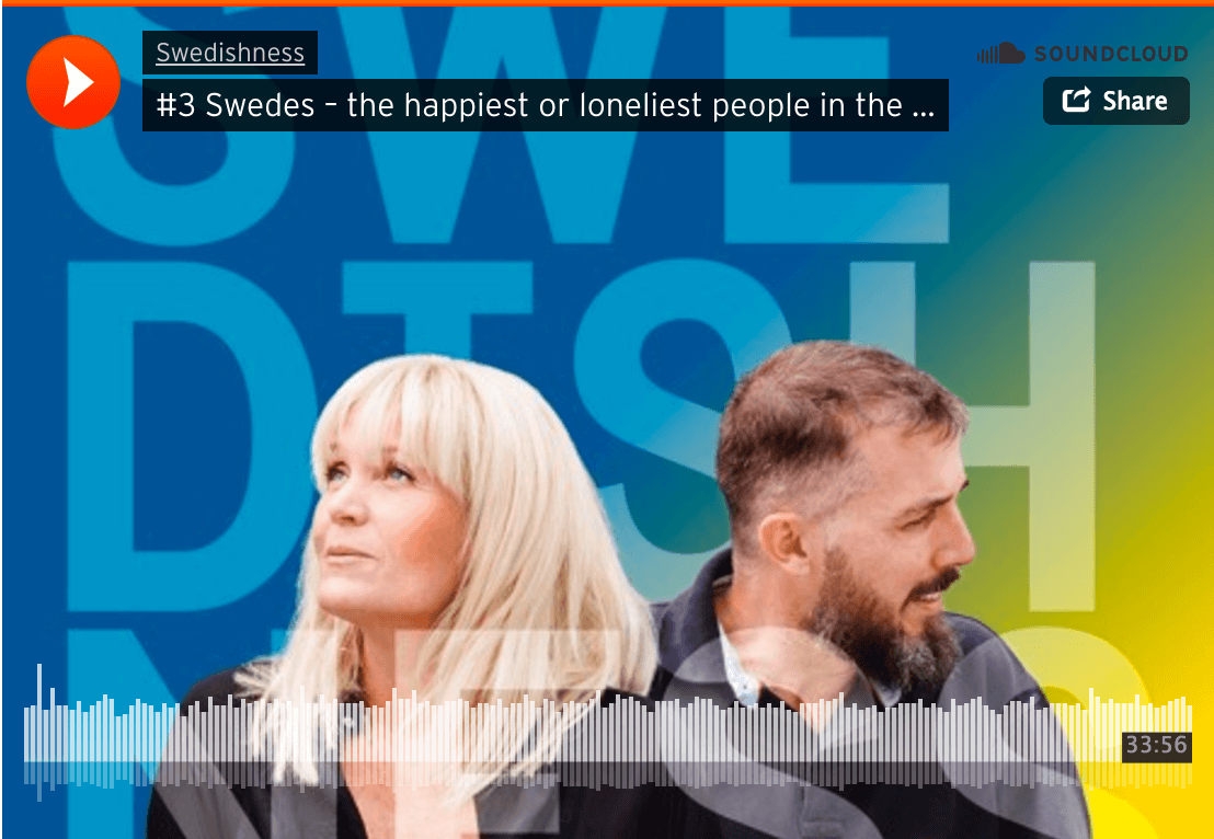Swedes happiest or loneliest