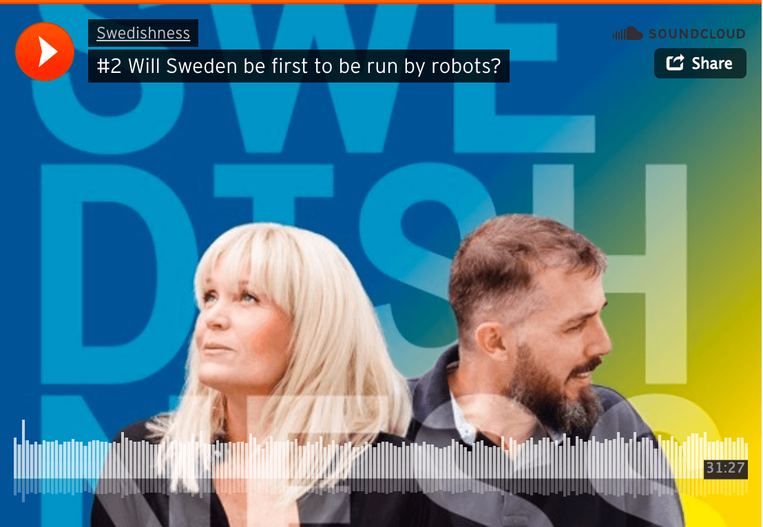 Will Sweden be run by robots?