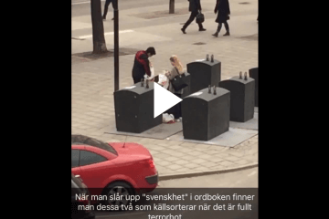 Swedes-recycle-under-terrorist-threat