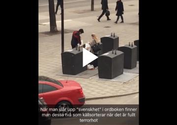 Swedes-recycle-under-terrorist-threat