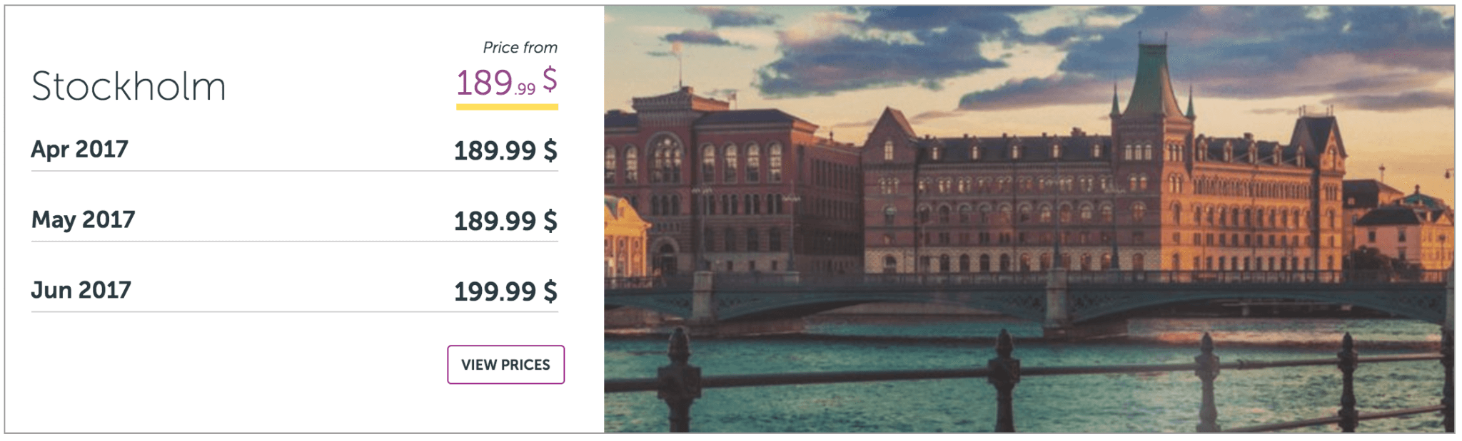 LA to Stockholm $500 or less?