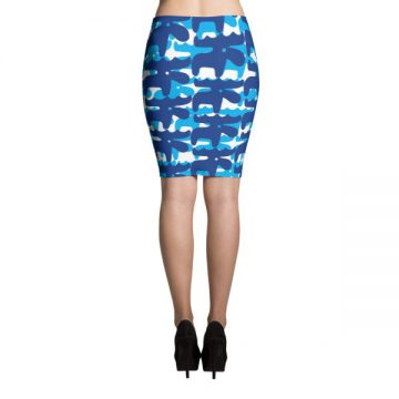 Swedish Moose Pencil Skirts