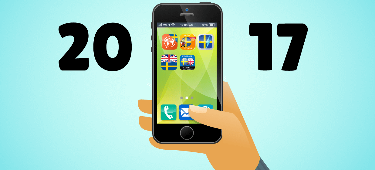 Best Apps Learning Swedish 2017