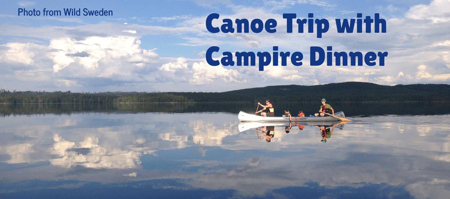 canoeing in dalarna sweden