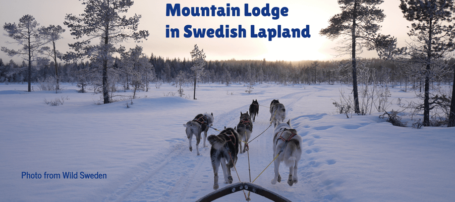 mountain lodge sweden lapland