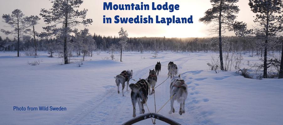 mountain lodge sweden lapland
