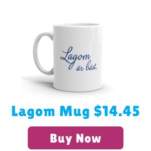 lagom mug for $14.45