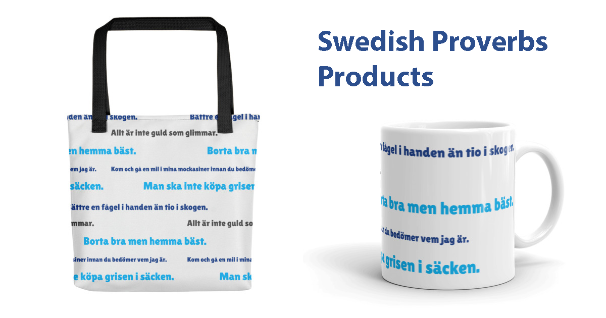 swedish proverbs products