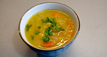Swedish Yellow Split Pea Soup