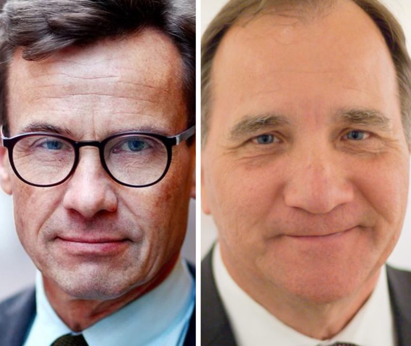 Ulf Kristersson and Stefan Löfven