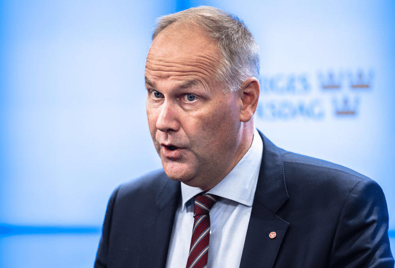 Jonas Sjöstedt, chairman of the Left.